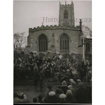 1929 Press Photo Epiphany Game of Haxey Hood in Lincolnshire England - nex97620