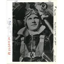 1994 Press Photo David Kingsley World War II Veteran Pilot - ora50205
