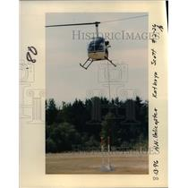 1996 Press Photo Helicopter - orb15041