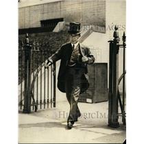 1923 Press Photo Ambassador Habihara of Japan at White House - nex96799
