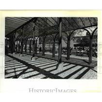 1929 Press Photo Skidmore Arcade, Old Town - orb28987