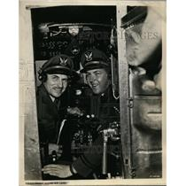 1949 Press Photo Captain E Hamilton Lee & son Captain Robert E Lee - nex98639