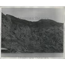 1929 Press Photo South Trinidad Island Cascade Valley from the Blossom