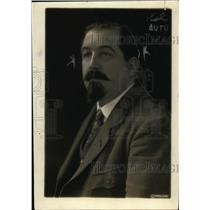 1919 Press Photo Leon Jouraux of France at International Labor conference