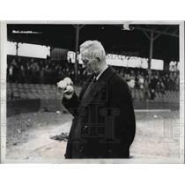 1943 Press Photo International League president Frank Shaughnessy - nea47342