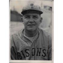 1931 Press Photo  Buffalo Bisons minor league pitcher Ruel R Love - nea06884