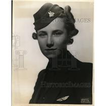 1938 Press Photo Rosemary C Griffith stewardess for American Airlines