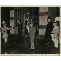 1939 Press Photo Powder House Re-Enactment 164th Anniversary in New Haven Conn