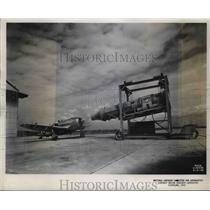 1945 Press Photo NACA Aircraft Engine research Labs to test plane engines