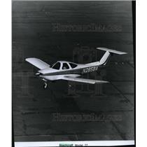 1977 Press Photo Airplane Beechcraft Model 77 - spx03883