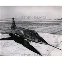 1959 Press Photo F-104 Fighter Plane - spx03243