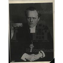 1930 Press Photo Dr Nathan Soederblom awarded Nobel Peace Prize for 1930