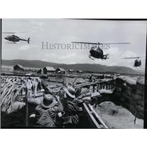 1979 Press Photo Helicopter  - spx03662
