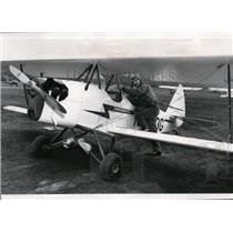 1962 Press Photo Build it yourself bi-plane test flown by William Duncan