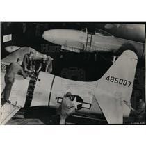 1948 Press Photo M Sgt William Taylor, Pfc Edward Burnham & Pfc Clarence Campion
