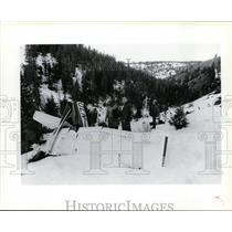 1987 Press Photo Brockett/Karstetter airplane accident  - spx03346