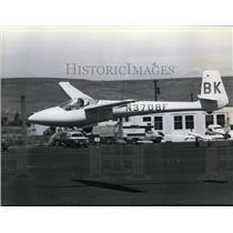 1978 Press Photo Sailplane Glider - spx03500