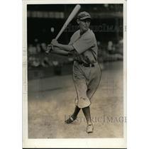 1934 Press Photo Joyner Jo Jo White, Centerfielder for Detroit Tigers