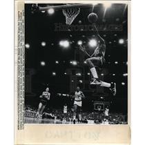 1972 Press Photo Nate Archibald of Kansas City Kings vs Bulls in Chicago