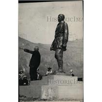 1925 Press Photo John Stevens on Upper Missouri Historical Expedition