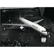 1982 Press Photo Boeing 757 Cargo Transport airplane - spx03582