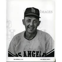 1965 Press Photo Tom Morgan of Los Angeles Angels - cvs02667