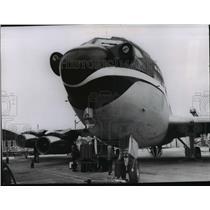 1969 Press Photo Aviation Transport Planes Boeing 707  - spx04548