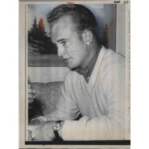 1963 Press Photo Green Bay Packer star Paul Hornung in Louisville KY - neb67356