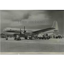 1946 Press Photo Double-deck, four-engine, all cargo Boeing Stratofreighter