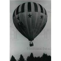 1972 Press Photo Mrs. Frank Kellar, balloonist