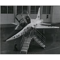 1970 Press Photo T38 Talon, world's first supersonic jet trainer at Northtown