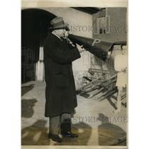1928 Press Photo Rusty Callows University of Pennsylvania crew coach - nes46234
