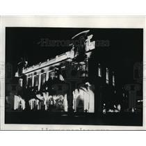 1933 Press Photo Gould's Palais de da Mediterranean Frank J Gould  - ney02988