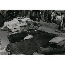 1939 Press Photo Guadalajara train crash from St Louis, Missouri to Mexico City