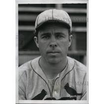 1934 Press Photo St. Louis Cardinals rookie infielder Thomas Carey