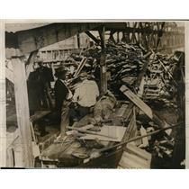 1926 Press Photo Kansas City tunnel explosion where eight were killed