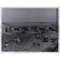 1960 Press Photo Fort Sumter Ruins facing Mount Pleasant - cva27550