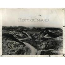 1935 Press Photo Part of the territory to be in the New Federal project