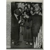 1953 Press Photo General Rafael Trujillo of Dominican Republic at NYC