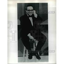 1963 Press Photo Allan Sherman,American comedy writer and television producer