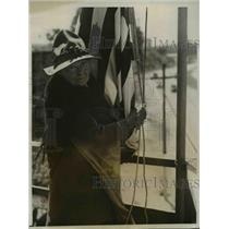 1931 Press Photo Mrs Minerva Ballou Hartman mother of Army and the Navy