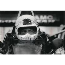 1979 Press Photo Neil Bonnett wore a pensive look as he awaited a practice run
