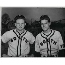 1950 Press Photo South High Baseball 1950 - cvb58452