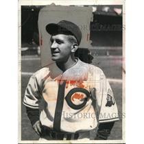 1935 Press Photo Cleveland Indians catcher Frankie Pytlak - net02034