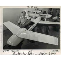 1989 Press Photo Daniel Connors, vice president of Pacific Aerospace Corp.