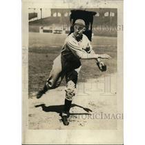 1930 Press Photo Detroit Tigers pitcher Charles Sullivan - net02319