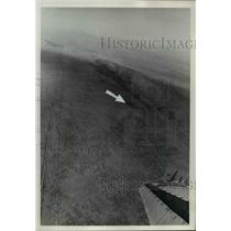 1972 Press Photo Boardman training range resembles featureless sea of sand.