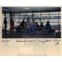 1995 Press Photo Redmond Municipal Airport Roberts Field - ora99081