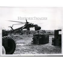 1965 Press Photo First Cavalry Air Division all helicopter borne outfit