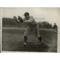 1930 Press Photo West Point two-sport star W.L. Parham - net02956
